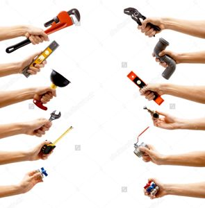 stock-photo-set-of-male-hands-holding-plumbing-equipment-on-white-background-repair-and-maintenance-concept-504457825
