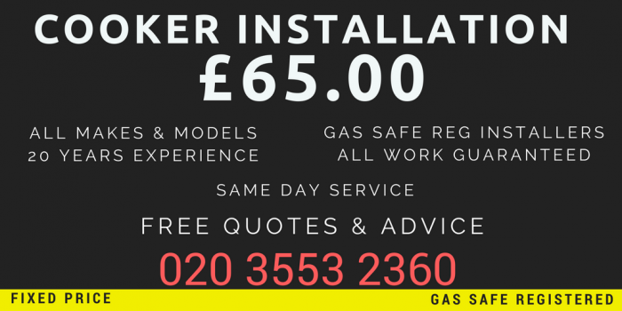 gas cooker installations leytonstone