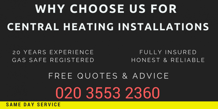 central heating installations leytonstone